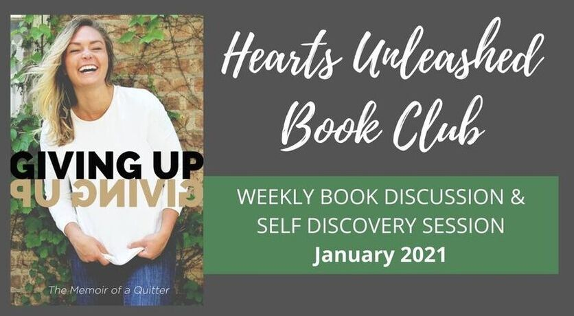 Hearts Unleashed Book Club graphic.